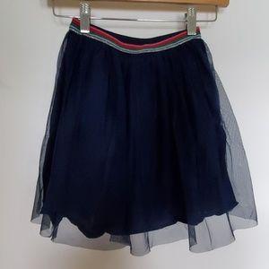 Girls Navy Blue Tulle Skirt